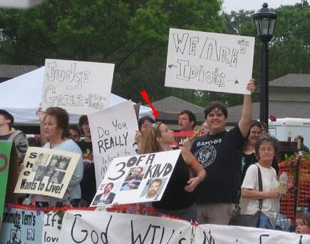 Terri Schiavo protest