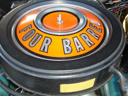air cleaner Four barrel