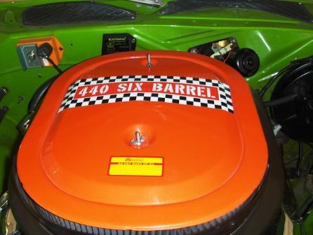 Mopar air cleaner 440 six barrel