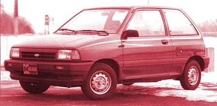 1988 Ford Festiva L-Plus