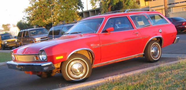 1976 Ford Pinto mpg wagon