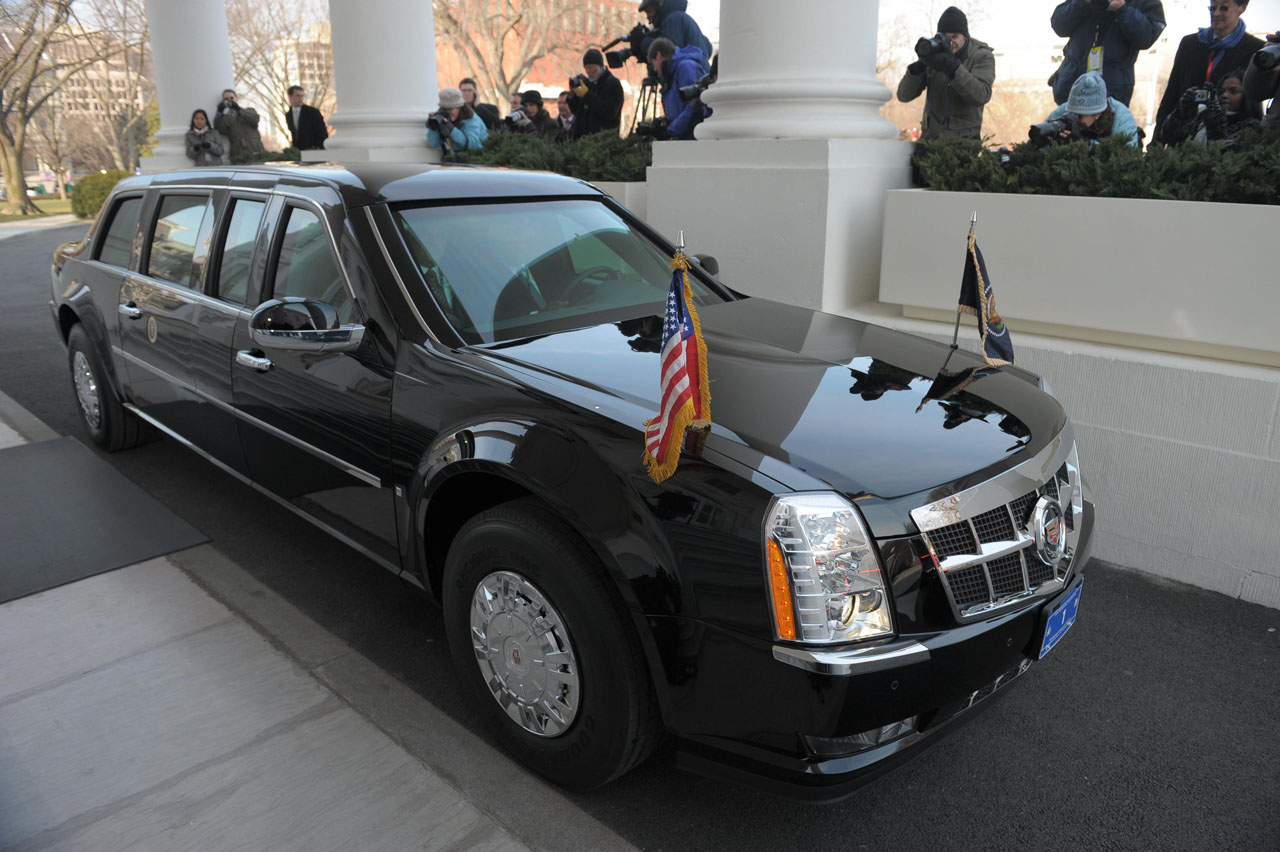 The Beast Cadillac presidential limousine