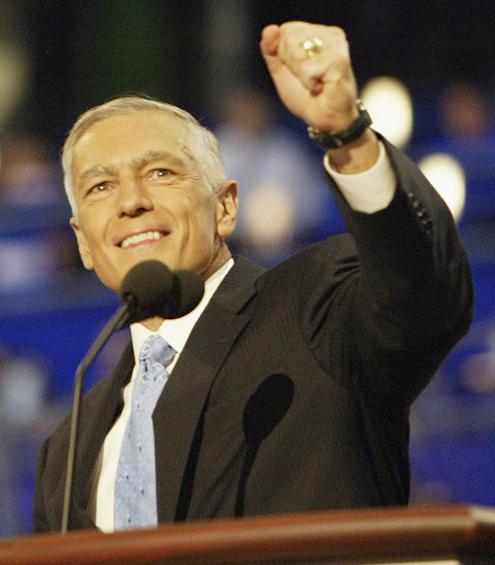 Former 2004 presidential hopeful retired