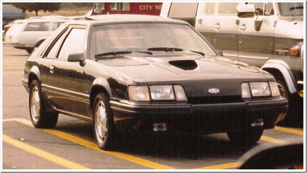 1986 Mustang SVO