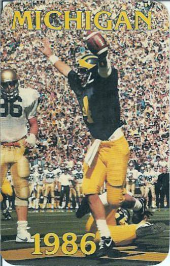 1986 Michigan Harbaugh