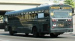 """the bus so nice, we wrote """"sheriff"""" on its ass twice"""