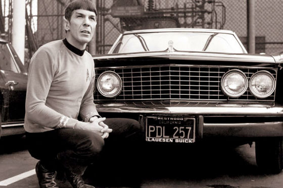 Spock and the 1964 Buick Riviera