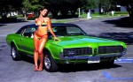 1967 Mercury Cougar bikini