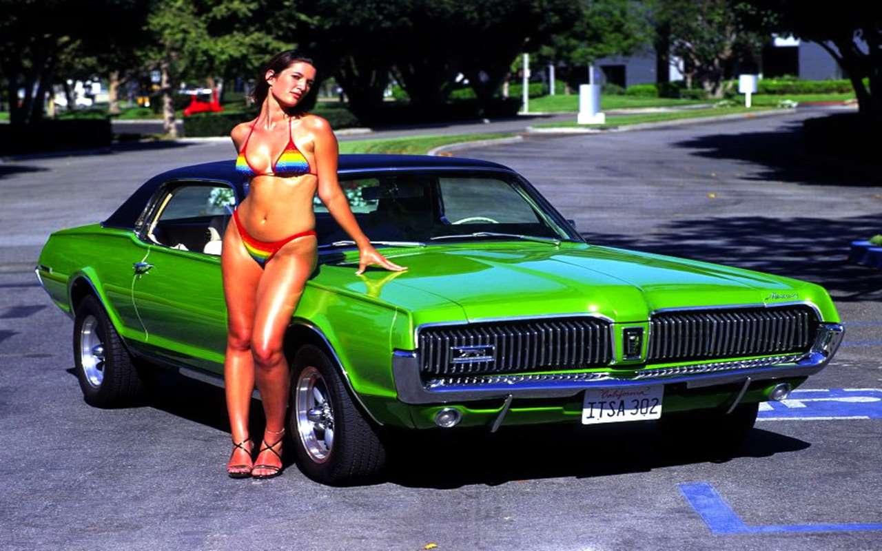 1968 Mercury Cougar bikini