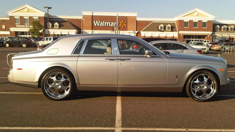 WalMart Rolls Royce Phantom