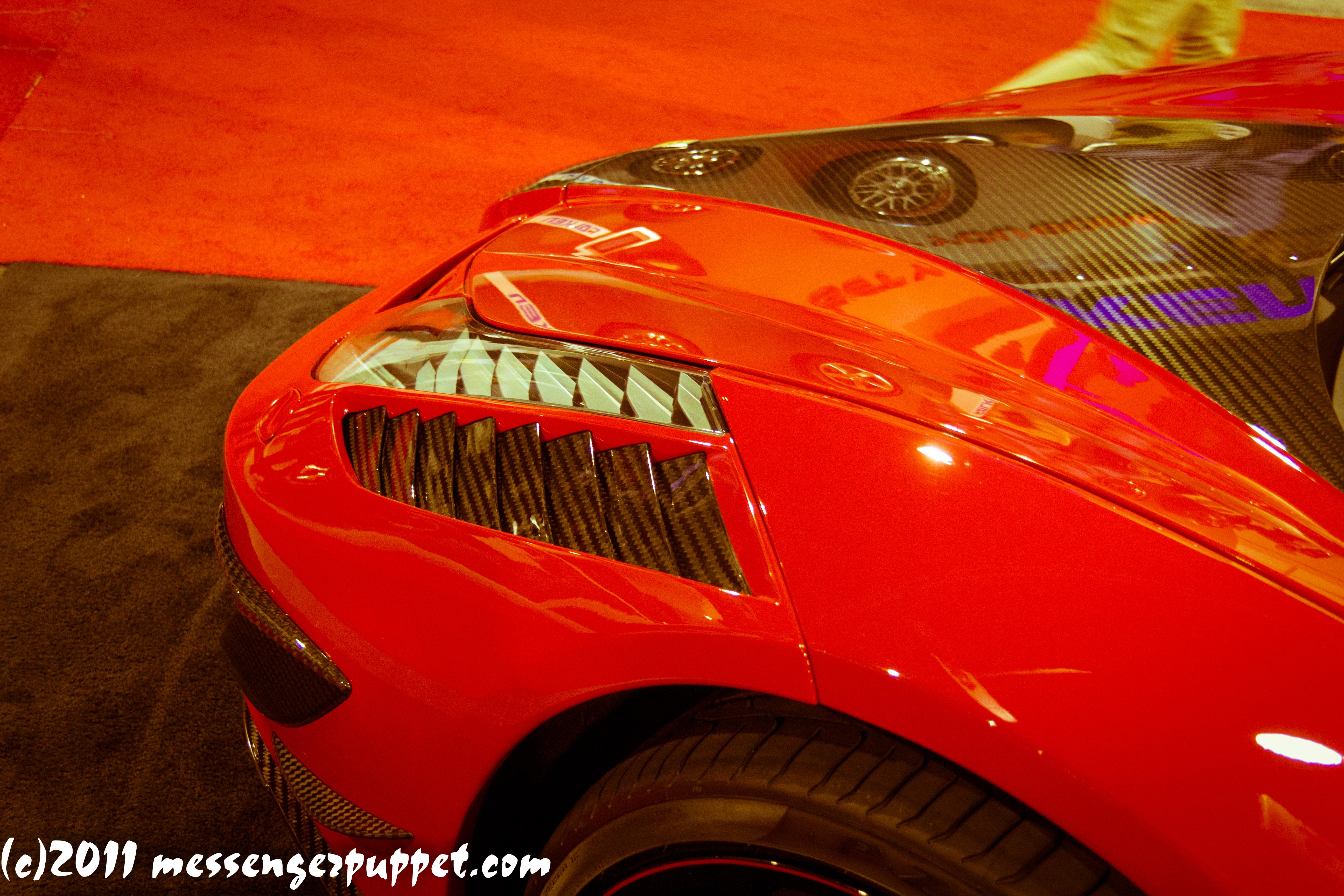 Ferrari 458 Italia carbon fiber SEMA