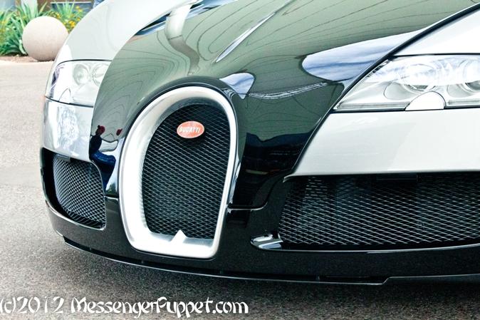 Bugatti Veyron grille