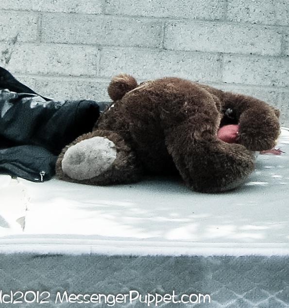 Bear mattress alley