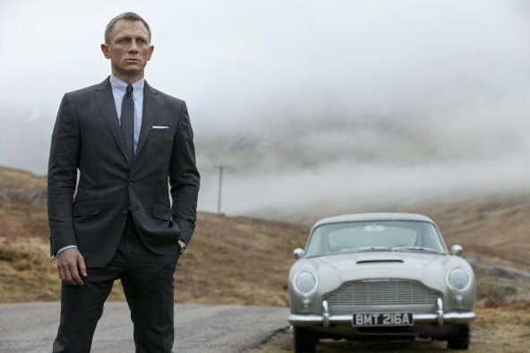 James Bond Skyfall Aston Martin DB5