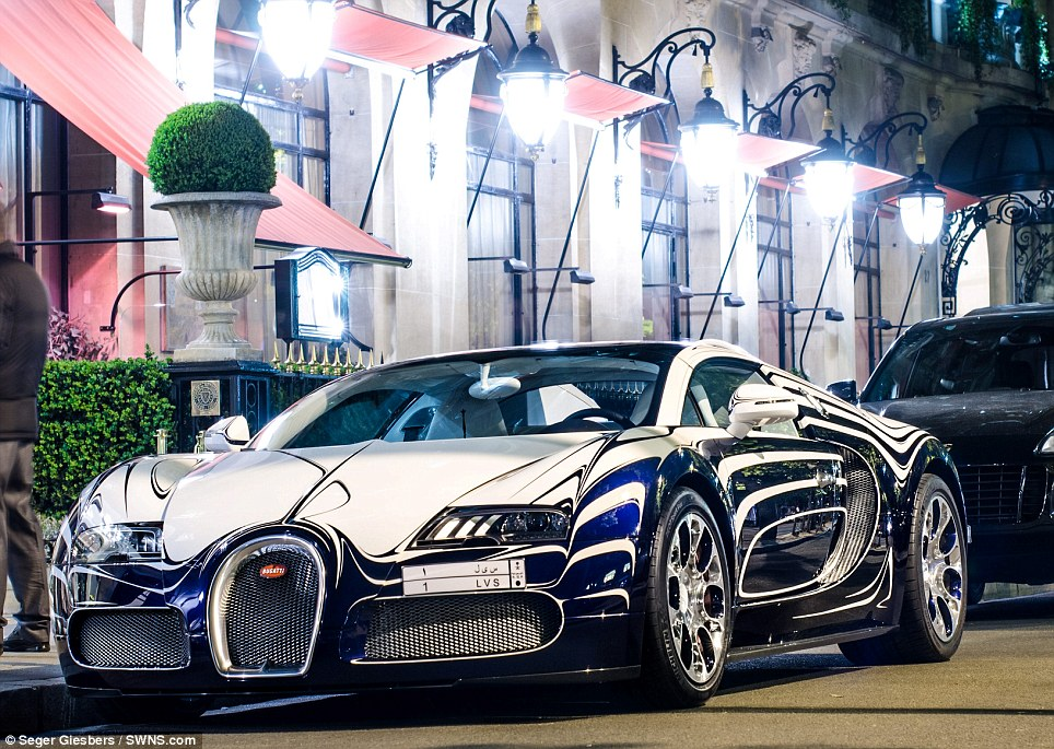 Bugatti Veyron L'Or Blanc