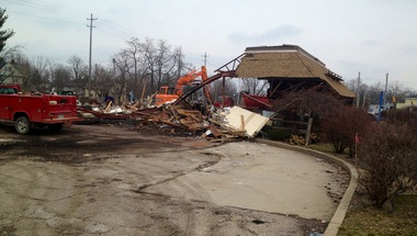 Burger King demolished in downtown Kalamazoo; longtime location is no more | MLive.com