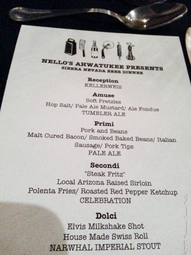 nellos menu
