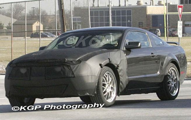 2010 Ford Mustang spy photo