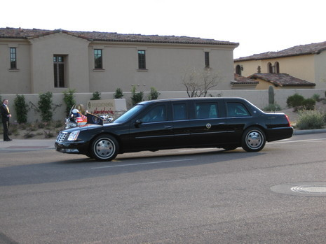 2006 Cadillac presidential limousine