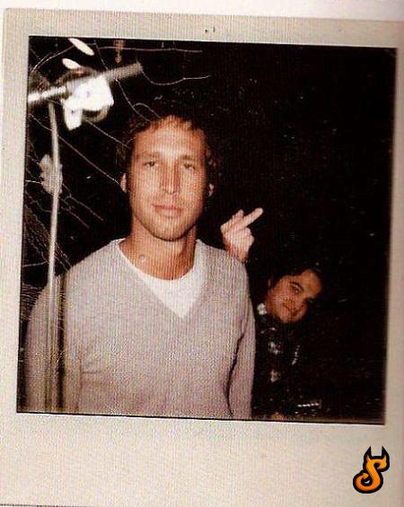 Chevy Chase and John Belushi