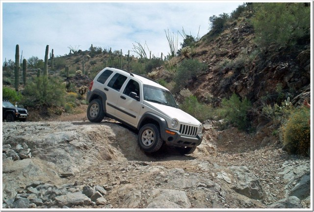 Jeep Liberty Box Canyon run