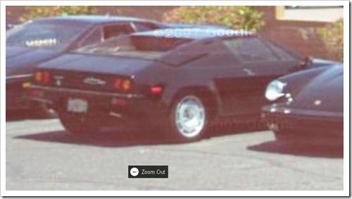 Lamborghini Urraco (Silhouette)
