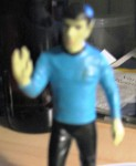 Ship's log, stardate 4041.2. Chief Engineer Scott recording. Captain Kirk and his landing party have checked in, but they have used the code term Condition Green, which means they're in trouble. But it also prohibits my taking any action.