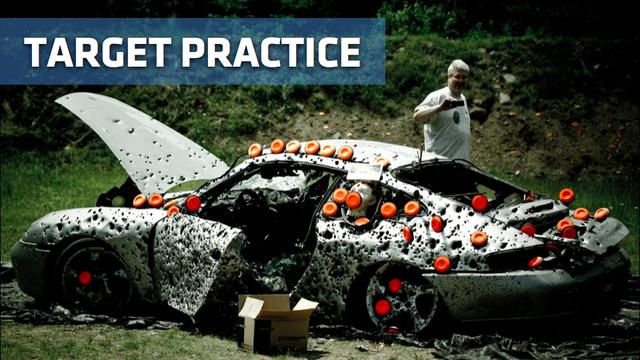 Porsche 911 shots Jalopnik