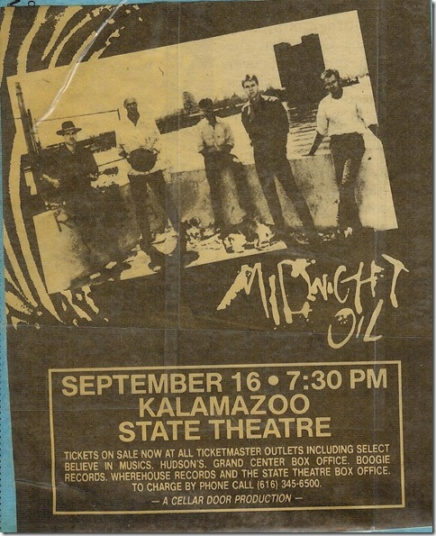 Midnight Oil State Theater